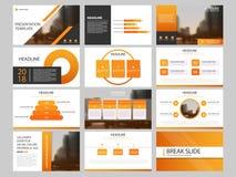 捆绑infographic元素介绍模板 企业年终报告,小册子,传单,广告飞行物, 库存例证