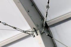 捆结构的细节在建造场所的 免版税库存图片