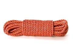 捆绑红色绳索 库存照片