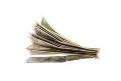 捆绑美国票据 免版税库存照片