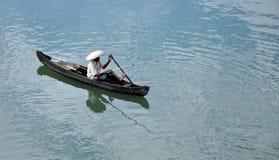 捉住食物在aroor湖 免版税图库摄影