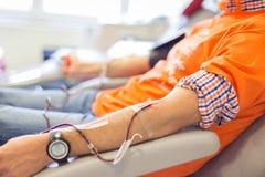 捐赠的献血者 免版税图库摄影