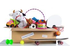 捐赠的Toybox 库存图片