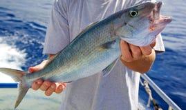 捕鱼体育运动 免版税库存照片