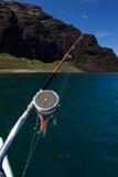 捕鱼夏威夷 免版税库存照片