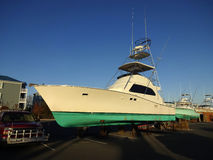 捕鱼季节的结尾 免版税库存照片
