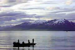 捕鱼挪威 库存图片
