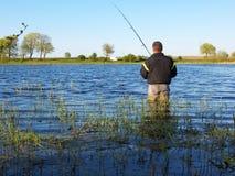 捕鱼时间 免版税库存照片