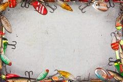 捕鱼框架 免版税库存图片
