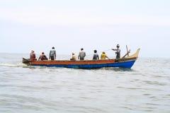 捕鱼海运 图库摄影