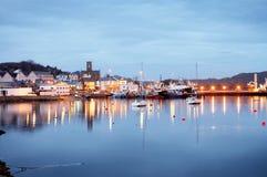 捕鱼爱尔兰kilroy城镇 库存图片