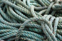 捕鱼绳索 库存图片