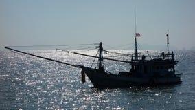 捕鱼船 免版税库存照片