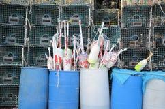 捕鱼装置 免版税库存图片