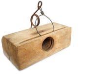 捕鼠夹 免版税库存图片