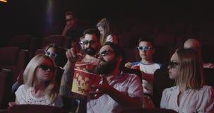 损坏影迷的人电影戏院的 影视素材