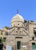损坏的圆顶,开罗,埃及 免版税库存照片