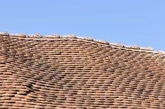 损坏的屋顶 库存图片