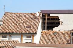 损坏的房子 免版税图库摄影