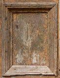损坏的框架木头 库存照片