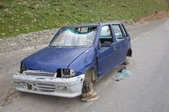 损坏的汽车 库存照片