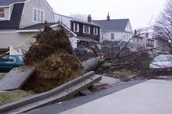 损坏飓风 免版税图库摄影
