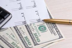 从换的收入在证券交易所 免版税库存照片