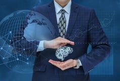 换的管理机制创新认为在市场上 免版税库存图片