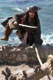 换码海盗 免版税库存照片