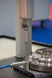更换者机架和探针模块 探针物质铁笔特写镜头过程 库存图片
