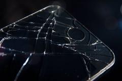 捣毁的智能手机 免版税图库摄影