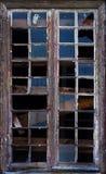 捣毁的视窗 免版税库存图片