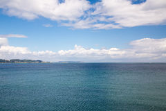 捣碎海岸线, Co 威克洛 免版税库存照片