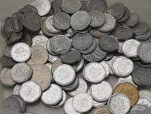 捷克克朗硬币 图库摄影
