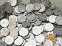 捷克克朗硬币 免版税库存图片