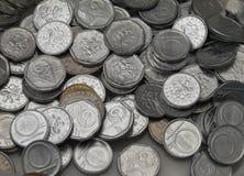 捷克克朗硬币 免版税库存照片