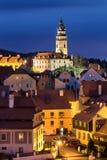 捷克克鲁姆洛夫城堡在捷克 库存图片