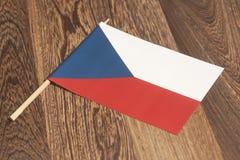 捷克共和国标志 免版税库存图片