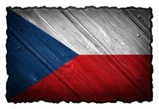 捷克共和国标志 库存照片