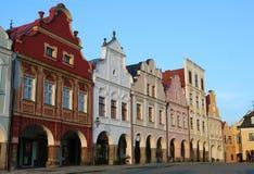 捷克共和国telc 免版税库存照片