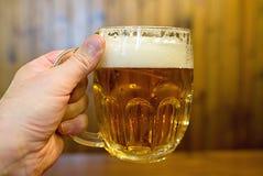 捷克啤酒 免版税库存图片
