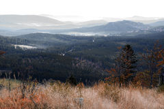 捷克国家公园共和国sumava 免版税库存照片