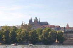捷克城堡 库存照片