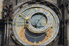 捷克大厅老布拉格共和国城镇 库存照片