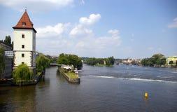 捷克布拉格共和国 图库摄影