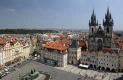 捷克布拉格共和国 库存图片