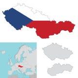 捷克斯洛伐克 免版税库存照片