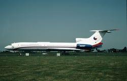 捷克斯洛伐克的空军队图波列夫TU-154B-2 0601 CN 84A601 图库摄影
