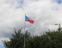 捷克标志共和国 免版税图库摄影
