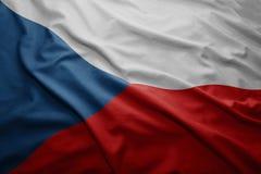 捷克标志共和国 图库摄影